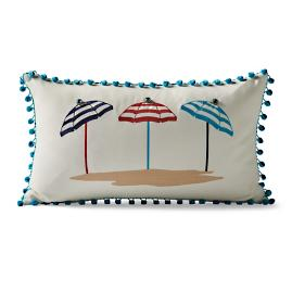 Seaside Escape Outdoor Lumbar Pillow