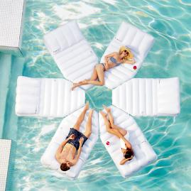 Modular Sun Floating Daybed