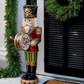 "58"" LED Nutcracker with Moving Hands"