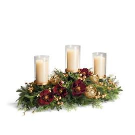 Grand Regency Three Candle Holder