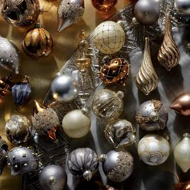 Gilded Elegance 60-pc. Ornament Collection