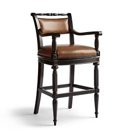 "Fairhope Swivel Bar Stool (30-1/2""H Seat)"