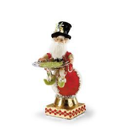 Mark Roberts Elf on Ball with Platter