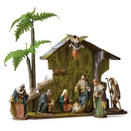 Mark Roberts Nativity Crèche Scene, Set of 10