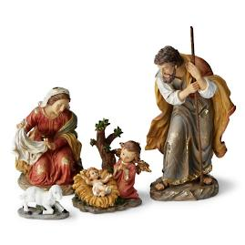 Mark Roberts Sweet Angel Nativity, Set of Four