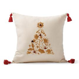 Festive Fir Decorative Pillow