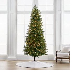 Deluxe Fraser Quick Light 9' Slim Profile Tree