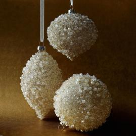 Frozen Champagne Ornament Accent Kit, Set of 12
