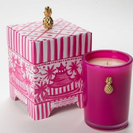 Pink Grapefruit Pagoda Gift Box Candle