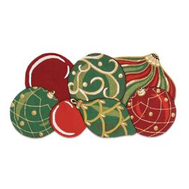 Christmas Ornament Entry Mat