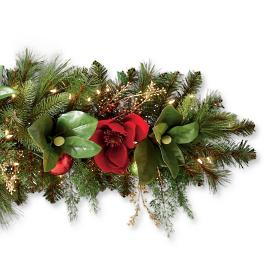 Christmas Tidings 6' Cordless Garland