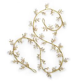 Crystal Gem Garland, Set of Six