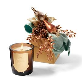Lux Aspen Holiday-scented Candle in a Harvest Gift