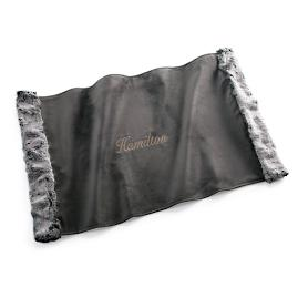 Chinchilla Faux Fur Pet Throw