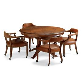 Nicholson Game Table and Four Chairs Set