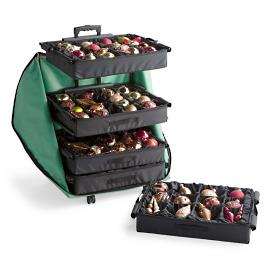 Adjustable 5-Tray Ornament Storage
