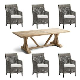 Graham 7-pc. Rectangular Dining Set