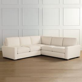 Berkeley Broad-Arm Sofa Sectional