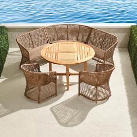 Liselle 6-pc. Round Dining Set