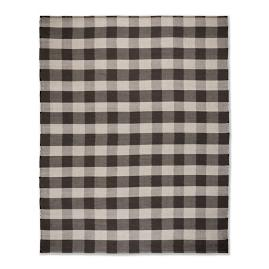 Gingham Outdoor Rug