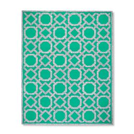 Rattan Lattice Indoor/Outdoor Rug