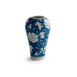 Ancient Blue Shaped Vase