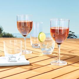 Classic Acrylic Tumblers, Set of Six