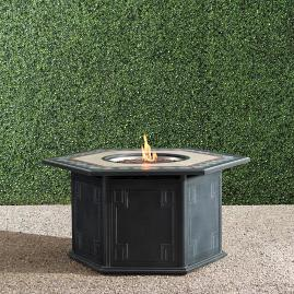 Cypris Custom Gas Fire Table