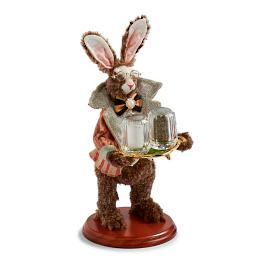 Mark Roberts Salt and Pepper Holder Rabbit