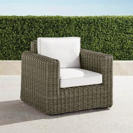 Small Vista Lounge Chair with Cushions