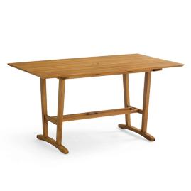 "60"" Rectangular Teak Dining Table"
