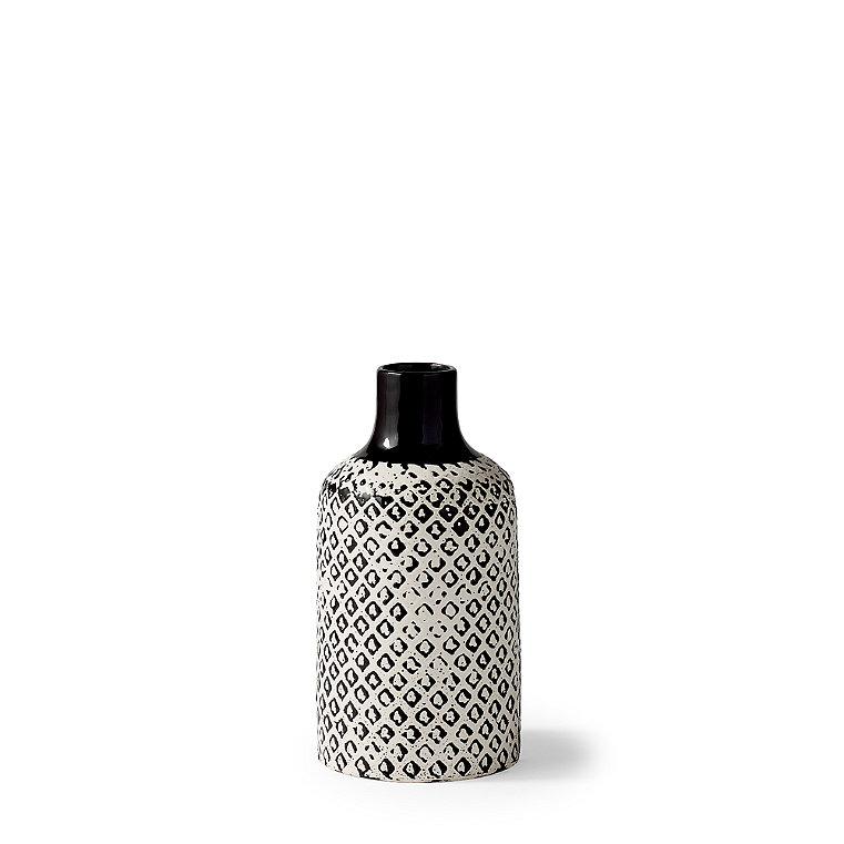 Chiara Ceramic Low Vase