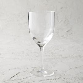 Classic Acrylic Wine Glasses, Set of Six