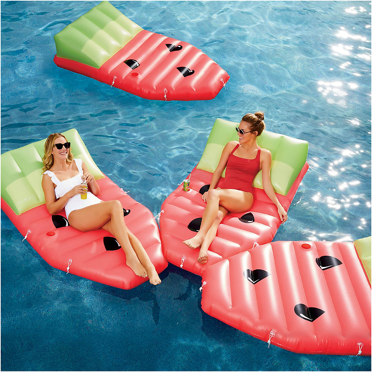 Sectional Watermelon Daybed Float