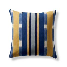 Kanta Stripe Decorative Pillow Cover in Lapis