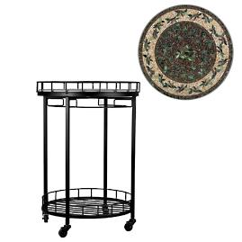 KNF Finch Round Serving Cart