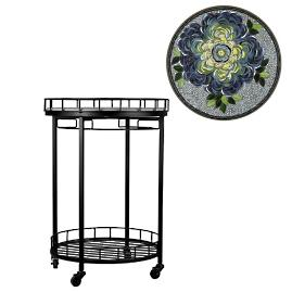 KNF Giovella Round Serving Cart
