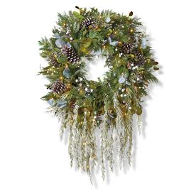 "Northern Wonder Cordless Outdoor 30"" Wreath"