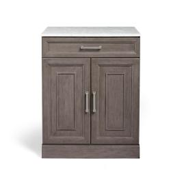 "Hunter 28"" Modular Base Cabinet with Solid Doors"