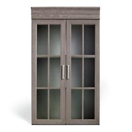 "Hunter 28"" Modular Top Cabinet with Glass Doors"