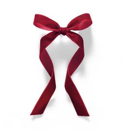 Velvet Bows, Set of 24