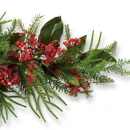 Holiday Glen Indoor 4 ft. Flexible Garland