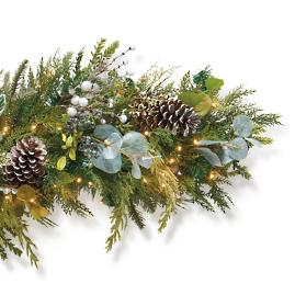 Northern Wonder Cordless Outdoor 6 ft. Garland