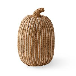 Striped Cord Rustic Pumpkin