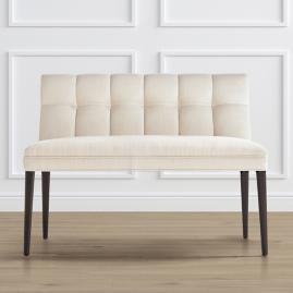 Gramercy Dining Bench in Dark Espresso