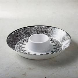 Tofino Melamine Chip and Dip Server
