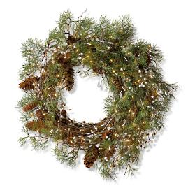 "Northern Lights Indoor 36"" Wreath"
