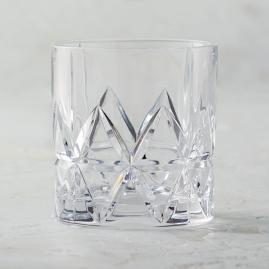 Peak Double Old-fashioned Glasses by Orrefors, Set of