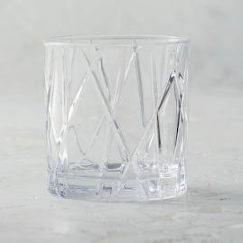 City Double Old-fashioned Glasses by Orrefors, Set of