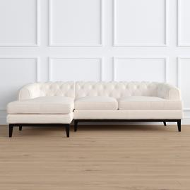 Bel Air Left-facing Chaise Sectional by Martyn Lawrence